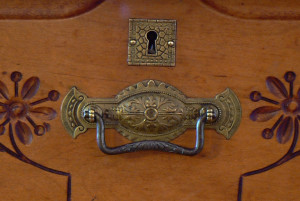 photo of antique chest ready for estate and antique appraisal services by Jerry L. Dobesh, ASA